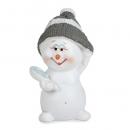 Gastgeschenk Weihnachten, Schneemädchen mit Spiegel, 50 mm