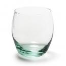 Glas Windlicht, Väschen oval, klar, 95 mm