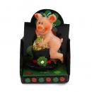 Gastgeschenk Silvester, Glücksschweinchen im Display, Nr. 5