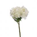 Kunstblume Hortensie in Creme, 33 cm