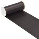 10 Meter Satin Tischläufer in Schwarz, 20 cm