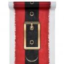 5 Meter Vlies Tischläufer Weihnachtsmanngürtel, 30 cm
