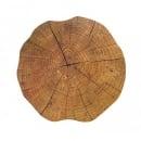 Tischset Baumstammoptik in Braun, 38 cm