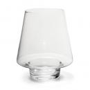 Große Glas Vase, Windlicht, Dekoglas, 22 cm