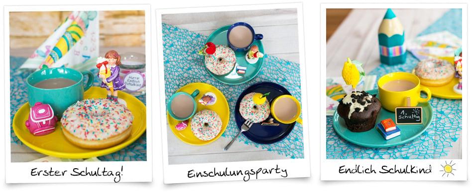 Tischdeko Piraten Mädchen Deko Einschulung Schulanfang Party Schultüte Tafel