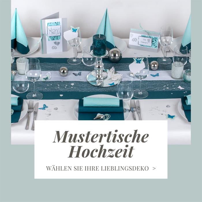 Tischdeko Tischdekoration Auf 170 Mustertischen Zum Fest
