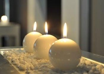 Tischdeko wohnzimmer  Kerzen und Kerzengläser für Ihre Tischdekoration