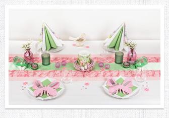 Frühling Tischdeko Schmetterlinge