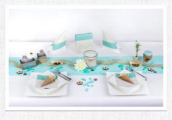 Geburtstag Tischdeko in Mint & Modern