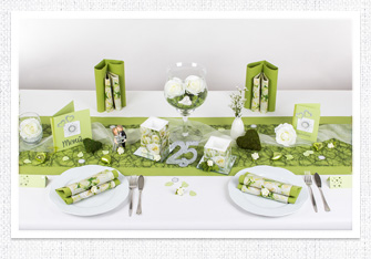 Tischdeko Goldene Hochzeit Und Silberne Hochzeit Mustertische In Der