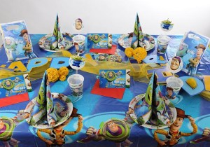 Kindergeburtstag Tischdeko Toy Story 3