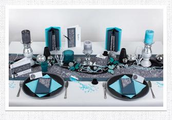 tischdeko ideen und mustertische f r silvester und den jahreswechsel. Black Bedroom Furniture Sets. Home Design Ideas
