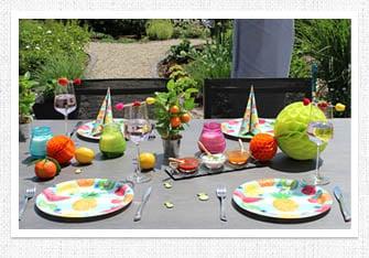 Sommer Tischdeko Tropische Party