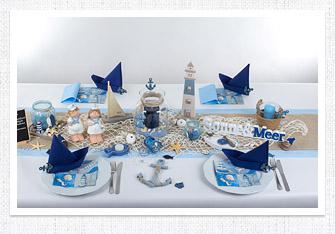 Sommer Tischdeko Maritim