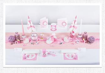 tischdekoration taufe tischdeko taufe dekotische zur taufe. Black Bedroom Furniture Sets. Home Design Ideas