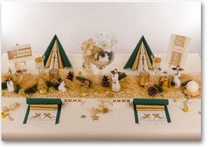 tischdekoration tischdeko weihnachten mustertische bersicht zur gestaltung ihrer. Black Bedroom Furniture Sets. Home Design Ideas
