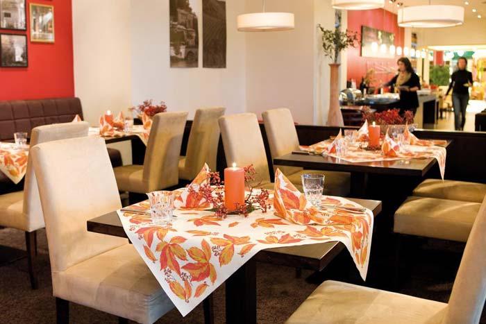 servietten mustertische herbst indian summer von duni bei. Black Bedroom Furniture Sets. Home Design Ideas
