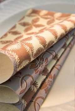 servietten mustertische herbst bergamasque von duni bei. Black Bedroom Furniture Sets. Home Design Ideas