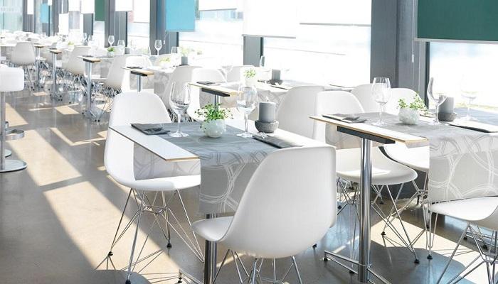 servietten mustertische manhatten grey von duni bei. Black Bedroom Furniture Sets. Home Design Ideas