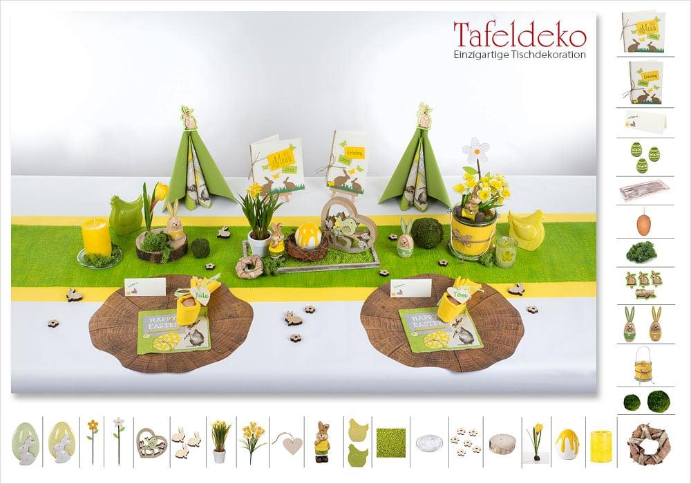 7 Mustertisch Alles Fruhlingsfrisch Tischdeko Fruhling Tafeldeko De