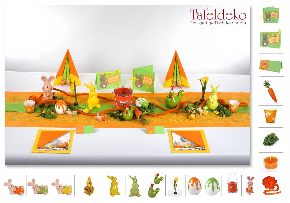 8 Mustertisch Kunterbuntes Osterfest Tischdeko Ostern Tafeldekode