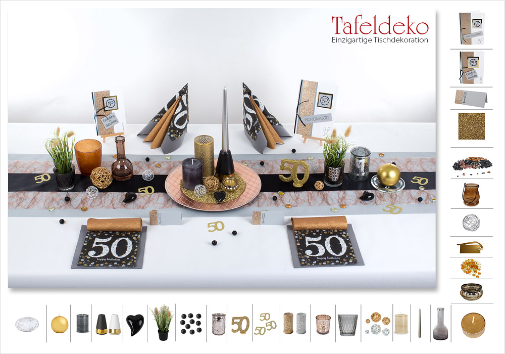 4 mustertisch runder geburtstag in edlen farben tischdeko geburtstag. Black Bedroom Furniture Sets. Home Design Ideas