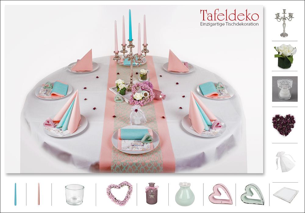 8 mustertisch in rosa mint tischdeko hochzeit. Black Bedroom Furniture Sets. Home Design Ideas