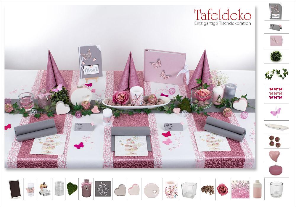 14 mustertisch romantik in altrosa tischdeko hochzeit Rosa tischdeko hochzeit
