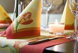 Tischdekoration Duni Tulipa
