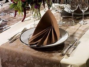 Tischdekoration Dinner