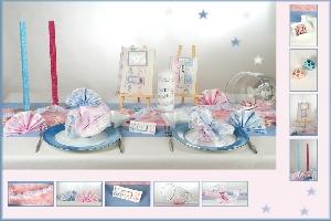 Tischdeko Babyshower