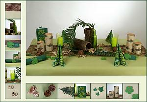 Tischdeko januar geburtstag  Kreative Tischdekoration zum Geburtstag | Tafeldeko