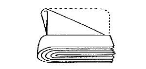 die technik beim falten von servietten serviettenf cher falten tafeldeko. Black Bedroom Furniture Sets. Home Design Ideas