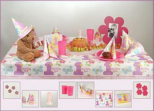 Tischdekoration Kindergeburtstag 1
