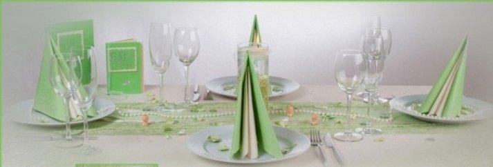 Die Tischdeko Zur Taufe Der Geschmack Macht Das Rennen
