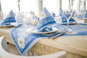 Duni Margarete Tischdekoration