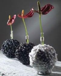 Tischdeko Mit Calla Schone Arrangements In Glasschalen Und Vasen