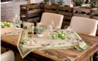 mediterrane tischdeko mit oliven tafeldeko. Black Bedroom Furniture Sets. Home Design Ideas