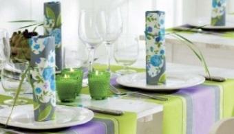 Tischdekoration Zum Brunch An Ostern Tafeldeko