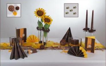 Tischdekoration Zum 40 Geburtstag Tafeldeko