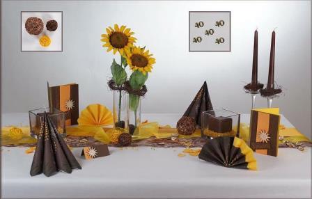Tischdeko Rustikal Eine Schone Art Den Tisch Zum Geburtstag Zu
