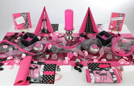 Eine atemberaubende tischdeko zum 18 geburtstag tafeldeko Deko 30 geburtstag pink