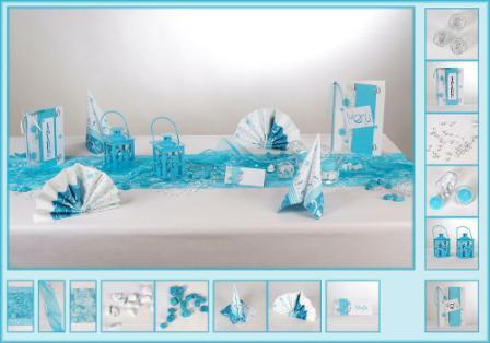 Eine Turkisfarbene Tischdeko Besticht Am Geburtstag Tafeldeko