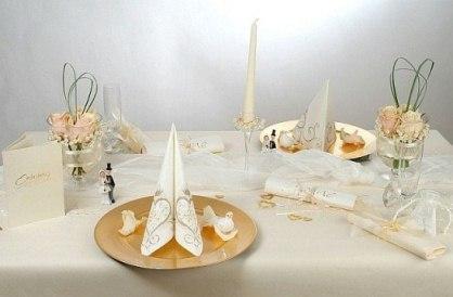 Tischdeko Zur Hochzeit Edel Und Luxurios Tafeldeko