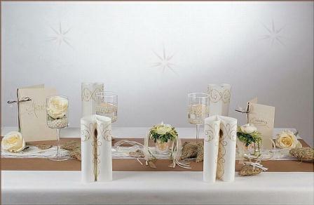 Hochzeits Tischdeko In Naturtonen Tafeldeko