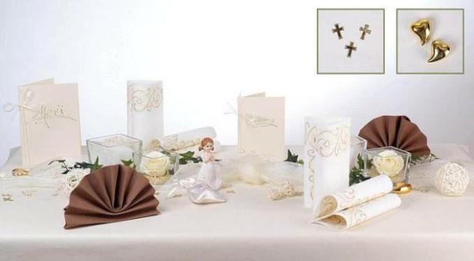 Eine Wundervolle Tischdeko Fur Die Kommunion Tafeldeko