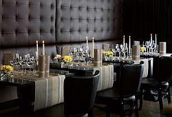 Tischdeko Modern edel und modern die tischdekoration in grau tafeldeko