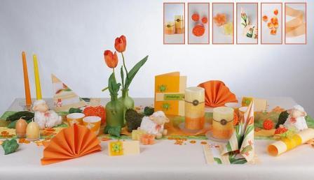 Tischdeko F R Ostern Mit Frischen Blumen Fr Hlingsboten