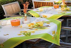 Eine Wunderschone Fruhlingshafte Tischdekoration Tafeldeko