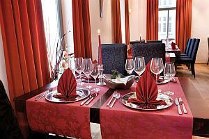 Tischdekoration Betriebsfest